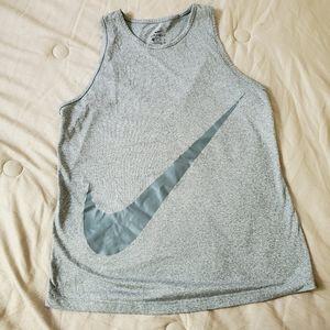 Nike logo muscle tank Top xs